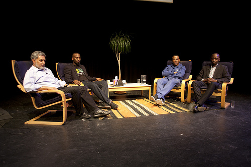 Black men on the couch III – Saturday, 12 May 2012