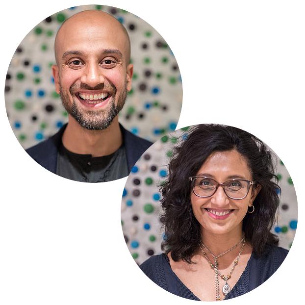 Shammi Kohli and Pretish Raja-Helm